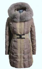 Пальто комбинированное 505