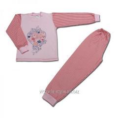 Пижама комбинированная с краской 468