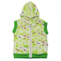 Vest with a hood 825