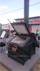 Печь для сжигания трупов животных УТ200