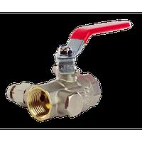 1/2 JG024V Кран шаровой с маевским воздоотвод