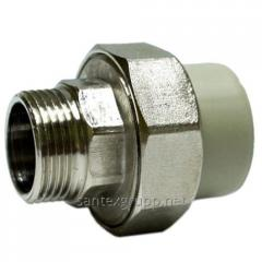 The coupling from America RN d 20х1/2 for PP-R of