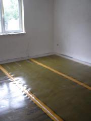 Heat-insulated floor film (infrared)