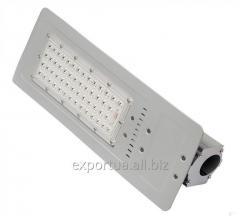 LED 가로등. 60w의 소비.