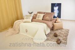 Bedding set, fabric ranfors, euro