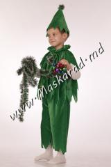 "Carnival costume ""Fir-tree"", I"