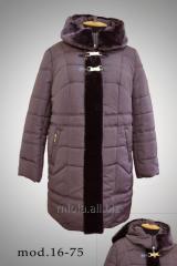 Зимнее пальто, модель 16-75