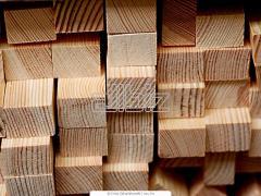 Брус деревянный, производство