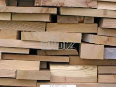 Boards, laths from the producer