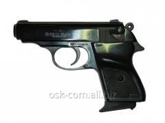 The starting gun ekol major (black) with a nozzle