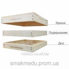 Set beehive Bottom + Podkryshnik + Roof 01-00012