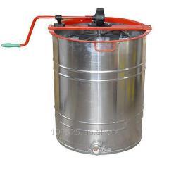 Centrifugal machines for the evacuation of honey