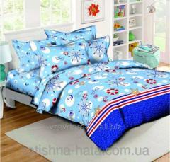 Комплект постельного белья Морячок, ранфорс (Семейный)