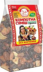 Mix of dried fruits Tajik without smoking, 200 g