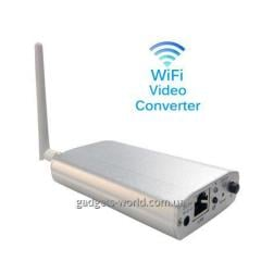Digital IP of video the server with Wi-Fi the