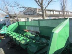 Harvester PZS-8 for cleaning of sunflower.