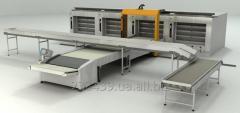 Automatic hearth OT150-1 hlebopekarsky transfer