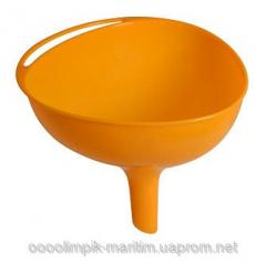 Classical kitchen funnel. The different sizes of