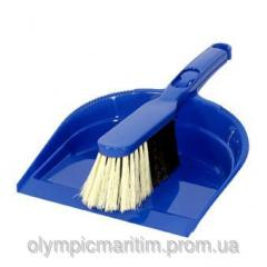 Brush for friction. In the form of the iron.