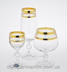 Glass under Bohemia 180ml*6sht champagne