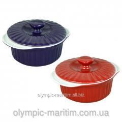 Кастрюля керамическая для запекания 1,5 л Ама