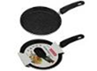 Frying pan of pancake 20 cm with a marble covering