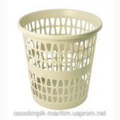 Basket for garbage plastic
