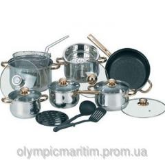 SET OF WARE 12PR. IT IS GREY. MAESTRO (MR-2120)