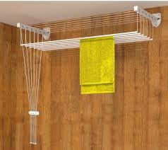 Lift clothes dryer of 200 cm ceiling and wall