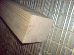 Брус клееный конструкционный:лаги, стропила, балки