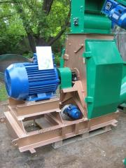 Spill grinder Crusher of sawdust 75 of kW