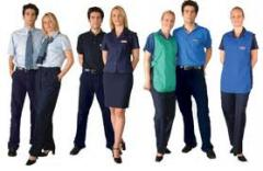 Clothes corporate, uniform having sewed sale