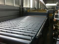 Line of production of RCN Powerlam 210 L triplex