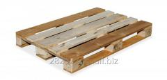 Europallet without dies/bands – B (used)