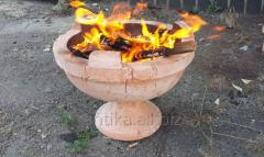 "Ceramic grill of ""Tazhin"