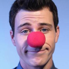 Nose of the clown