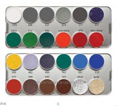 FP palette - the primary bright colors, gold,