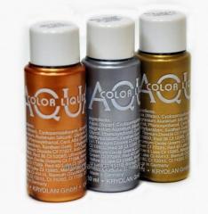 Liquid make-up Akvakolor of a likva