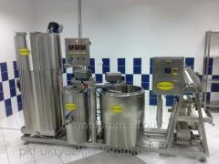 Modular mini-plants for processing of milk