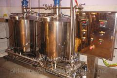 Equipment for fermented milk products