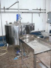 Instalacja odzysku mleko w proszku