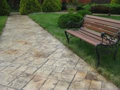 Path covering stamped concrete 0003