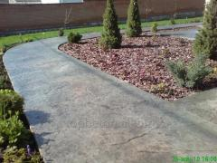 Path covering stamped concrete 0004