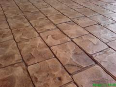 Path covering stamped concrete 0006
