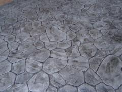 Path covering stamped concrete 0017