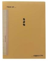 Дисплей-книга А4  30 файлов LEO 5701 Coffee break