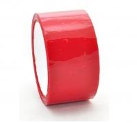 Скотч цветной красный 48mm*50y*40mkm 72шт/ящ