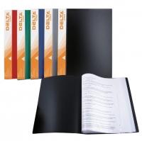 Дисплей-книга А4  40 файлов черная Delta 1540-01