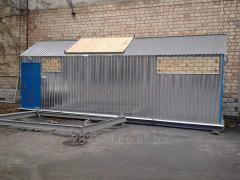 Steam Transportable modular boiler installation