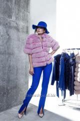 Fur coat from the Finnish polar fox